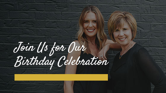 Join Us for Our Birthday Celebration